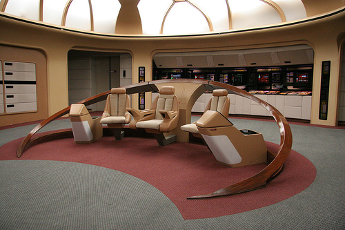 The Bridge of the Enterprise-D